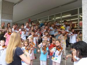 3. Suzuki Workshop in Österreich, veranstaltet von der Johannes Brahms Musikschule Mürzzuschlag, Juli 2006